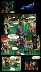 Shrinky Dinks 12 (Lazy Ass Artisan) Tags: omega supreme megatron starscream optimus prime devastator trailbreaker transformers autobots autobot decepticons decepticon kreo lego