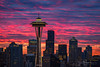 Space Needle and Seattle Skyline Sunrise (Jim Patterson Photography) Tags: kerrypark queenanne seattle spaceneedle washington city fineartphotography fineartphotos fineartprints landmark metropolis morning sky skyline stock stockimages stockphotos sunrise usa cityscape jimpattersonphotographycom jimpattersonphotography