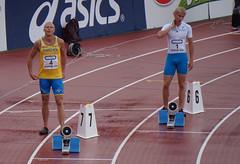 Ytterbanorna (Anemone Nemorosa) Tags: finnkampen friidrott 200m johan wissman samuli samuelsson