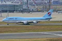 HL7489 Boeing B744 HND 02Dec2012 (Citation Ten) Tags: hl7489 n392bc b744 kal hnd