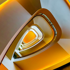 Only you (JohnNguyen0297 (mostly off)) Tags: staircase tokyo japan spiral golden a6000 ilce6000 lookingup lookup gorgeous spiralstaircases johnnguyen johnnguyen0297 wide