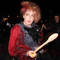 Red (mcginley2012) Tags: macnas savagegrace streettheatre street performers galway ireland portrait red