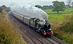 western glory (midcheshireman) Tags: steam train locomotive greatwestern 50xx 5043 earlofmountedgecumbe mainline cheshire