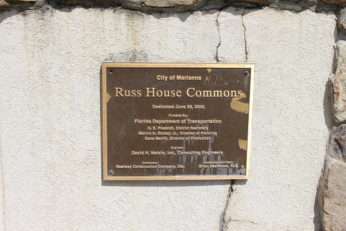 Joseph W. Russ Jr. House dedication plaque