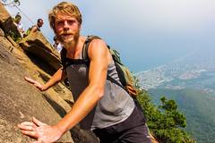 IMG_4973 (sergeysemendyaev) Tags: 2016 rio riodejaneiro brazil pedradagavea    hiking adventure best    travel nature   landscape scenery rock mountain    high forest  climbing risk dangerous