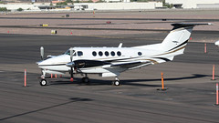 Beech 200 King Air N307DM (ChrisK48) Tags: 1978 aircraft airplane beech200 beechcraft dvt kdvt kingair n307dm phoenixaz phoenixdeervalleyairport restricted