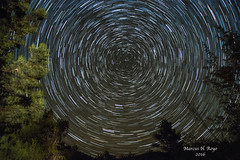 Star Trails Over Kingston (MariachiMarcus) Tags: astrophotography startrails night stars polaris northstar kingston kingstonnewmexico newmexico nightsky