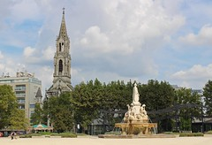 Nimes France (big_jeff_leo) Tags: nimes france roman temple arena building stone ancient architecture city facade fountain french empire old pilar column