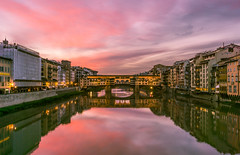 Firenze! (aliffc3) Tags: florence firenze tuscany italy architecture dawn travel tourism sonya6000 arnoriver europe