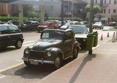Fiat 500 C Topolino (andreboeni) Tags: classic car automobile cars automobiles voitures autos automobili classique voiture retro auto oldtimer fiat 500 c 500c topolino ponte tresa italy italia pontetresa
