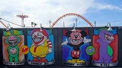 . (SA_Steve) Tags: coneyisland ronenglish mural wall colorful colors color colour colours multicolored multicolor