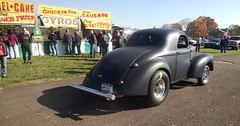 Willys Gasser at Vargo Dragway Show 2016 (Speeder1) Tags: vargo dragway classic muscle vintage car hot street rod show ford chevy plymouth willys coupe mustang torino gasser mopar hemi