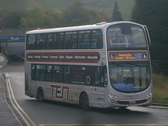 6081 @ Prudhoe (ianjpoole) Tags: goahead north east volvo b9tl wright eclipse gemini nk62fkg 6081 working route 10b prudhoe newcastle
