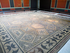 IMG_6452 (jaglazier) Tags: 2016 2ndcentury 2ndcenturyad cologne coloniaclaudiaaraagrippinensium copyright2016jamesaglazier floors geometricdesigns germany heads imperial koln kln museums roman romangermanicmuseum rosettes rmischgermanischesmuseum september squares triangles archaeology art borders crafts mosaic villas