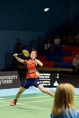 NBLmatch-5100-0560 (University of Derby) Tags: 5100 badminton nbl sportscentre universityofderby match