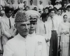 Governor General takes the salute (Doc Kazi) Tags: pakistan india independence negotiations ceremonies jinnah gandhi nehru mountbatten viceroy wavell stafford cripps edwina fatima muhammad ali
