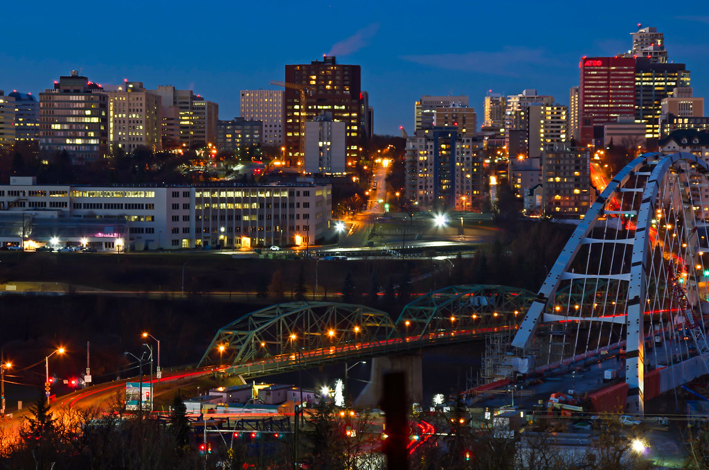 The World's Best Photos of edmonton and lighttrails ...