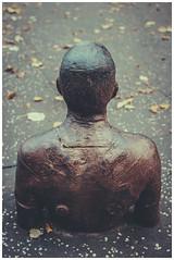 Gormley - National Gallery of Modern Art (Gordon_Farquhar) Tags: antony gormley sculpture man rust sad melancholy national gallery modern art edinburgh scottish