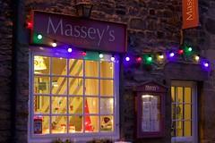 Massey's Magic 3 (ianwyliephoto) Tags: corbridge northumberland tynevalley christmas lights festive sparkling twinkle 2016 community