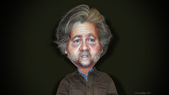 Steve Bannon - Caricature (DonkeyHotey) Tags: stephenkevinbannon stevebannon breitbartnews goldmansachs donaldtrump republican rnc gop donkeyhotey photoshop caricature cartoon face politics political photo manipulation photomanipulation commentary politicalcommentary campaign politician caricatura karikatuur karikatur