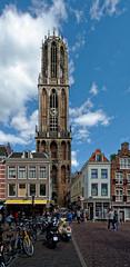 Tour de la cathédrale (Domtoren) d'Utrecht -  Pays Bas (Vaxjo) Tags: paysbas netherland utrecht cathédrale domtoren domkerk