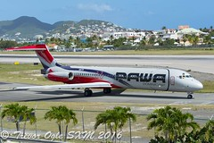 DSC_7454Pwm (T.O. Images) Tags: hi978 pawa dominicana mcdonnell douglas md80 sxm st maarten princess juliana airport