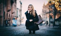 Rebecca (PhotographerJockeFransson) Tags: street 85mm fashion portrait