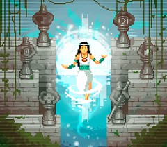 Cyndi Ordoñez - Project Priestess (HR Director) (iloveui) Tags: sorceress dragon priest minecraft ninja