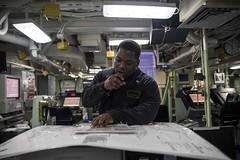 161130-N-JH293-115 (U.S. Pacific Fleet) Tags: ussgb greenbay ussgreenbay lpd20 japan sasebo bhr ctf76 forwarddeployed us7thfleet pacific ocean water navy ship sailors wisconsin packers jpn