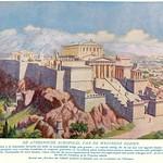 wonderen der oudheid II,1925 ill  Athene  Acropolis   rec