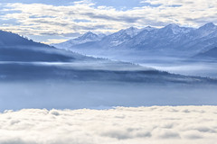 Above Interlaken (Geolilli) Tags: mountains switzerland clouds lakescapes interlaken canon beatenberg alps winter