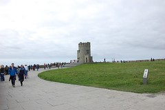 Cliffs of Moher - O'Brien's Tower (ManuWolf) Tags: cliffsofmoher aillteanmhothair coclare ireland