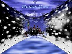 "Day 7 Christmas Carolers Stars (""God Through Anne Terri With The Holy Spirit) Tags: god jesus spirit christmas theholyspirit"