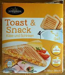 Toast & Snack Packung (susimtsch) Tags: toaster toast snack kse poptart waffel toastbrot schinken wonnemeyer getoastet