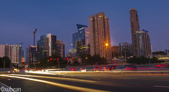 buckhead skyline (xubean) Tags: longexposure atlanta skyline night canon photographers buckhead nepaliphotographer