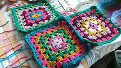 Another blanket (pacific_rin) Tags: crochet blanket granny