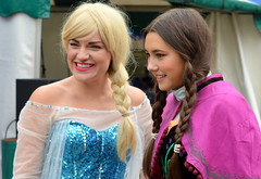 Snow Princess at Summer Wonderland, Preston (Tony Worrall) Tags: county uk england fun costume stream tour open place northwest unitedkingdom country north super visit location lancashire sing area preston superheroes northern update dressed attraction lancs snowprincess flagmarket summerwonderland welovethenorth 2015tonyworrall