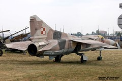 117 EPDE 21-08-2015 (Burmarrad (Mark) Camenzuli Thank you for the 20.9) Tags: b cn force aircraft air poland airline flogger registration 117 mikoyangurevich epde mig23mf 21082015 0390224117