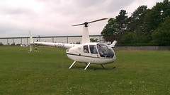 helicopter at sherburn airfield (M0JRA) Tags: flying helicopters airfield sherburn