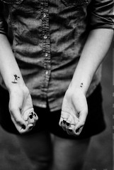 Champaign, IL. 2015. (freedomflash) Tags: leica blackandwhite illinois photojournalism documentary tattoos il m8 champaign summilux newlife micahmccoy