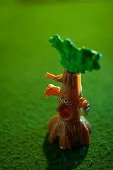 Angry Tree 1 (AvikBangalee) Tags: tree cute children toy chocolate cartoon kinder surprise product kindersurpriseeggs kindersurprisetoys