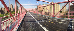 Walk across the Williamsburg Bridge (Mr. Biggs) Tags: nyc newyorkcity bridge newyork brooklyn graffiti unitedstates manhattan williamsburg
