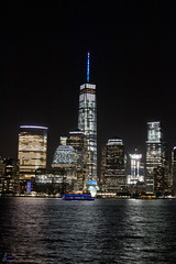 WTC Tribute in Lights NJ_0003_sig (Fadde Photography) Tags: world new york city ny reflection building water night truck river fire lights memorial state 911 nj center nighttime empire jersey wtc hudson tribute fighters trade