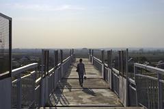 Sky lane (A.Shalaev) Tags: travel bridge autumn sky russia herbst val petrov 2015 russianrailways volgaregion