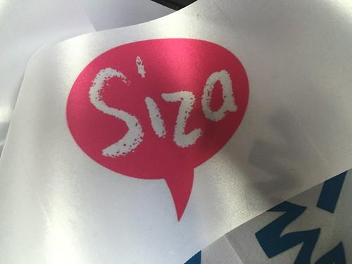 Bedrukt lint 100mm Full-Color Siza