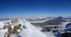 Lyskamm traverse (Andrea.it) Tags: snow alps ice climb glaciers monterosa alpinismo alpi valledaosta alpinism lyskamm mounyain