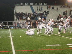 "Mount Carmel vs. St. Rita September 18, 2015 • <a style=""font-size:0.8em;"" href=""http://www.flickr.com/photos/134567481@N04/21350913108/"" target=""_blank"">View on Flickr</a>"