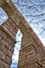 Segovia. El Acueducto.- (ancama_99(toni)) Tags: sky españa architecture spain arquitectura nikon romano cielo segovia acueducto 1000views 10favs 10faves 25favs 25faves ltytr1 d7000