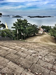 Caramoan (noel.balagtas) Tags: sea island stair catholic peace mary chapel rosary grotto bicol mamamary caramoan camarinessur camarines camsur