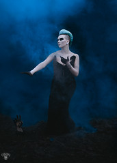 Hades Summons (Cambiguous) Tags: portrait composite vancouver photoshop canon dark greek photography model bc surreal victoria fantasy conceptual mythology productions persephone hades myth whimsical 6d yyj cambiguous
